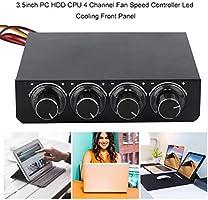 Rouku Caja de PC de 3.5 Pulgadas PC HDD CPU Controlador de ...