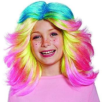 Lady Glitter Sparkles Child Trolls Wig