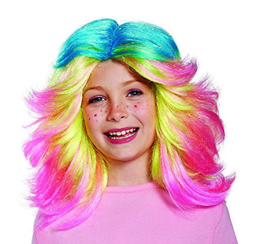 Hot Stuff Costumes For Women (Lady Glitter Sparkles Child Trolls Wig)
