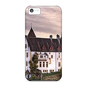 linJUN FENGAssFYFQ8307CycUb Tpu Phone Case With Fashionable Look For iphone 6 plus 5.5 inch - Neuchatel Castle Switzerl