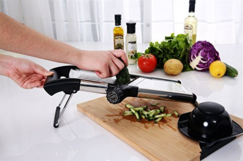 Adjustable Mandoline Vegetables Multiple Stainless product image