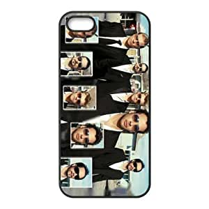 Backstreet Boys Pattern Design Solid Rubber Customized Cover Case for iPhone 4 4s 4s-linda589