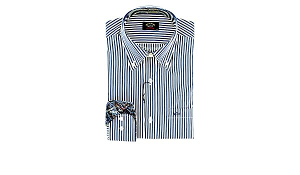 PAUL & SHARK Casual, Cotton, Shirt multicolor 40: Amazon.es: Ropa y accesorios