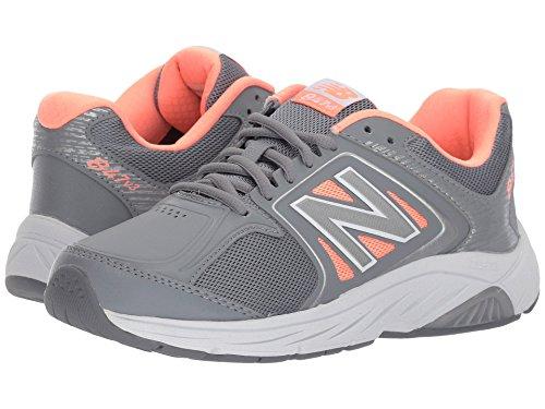 アナニバー一回成功した(ニューバランス) New Balance レディースウォーキングシューズ?靴 WW847v3 Grey/Pink 8.5 (25.5cm) EE - Extra Wide