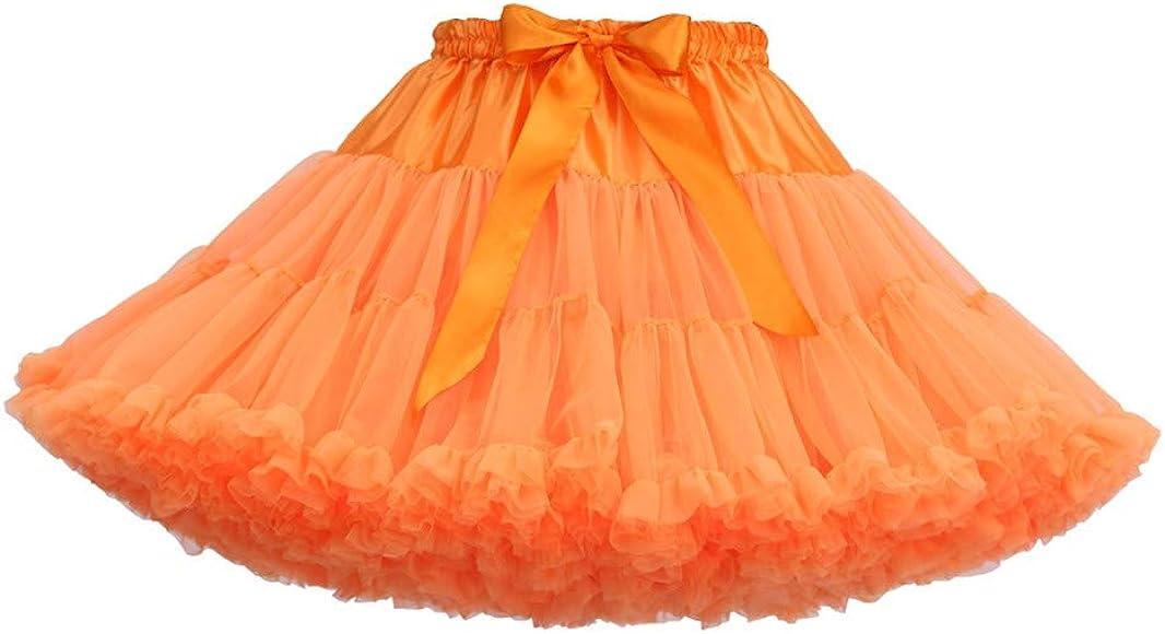 Jkfine Soplo Malla Faldas Mujer Cortas Verano 2019 de Color Sólido ...