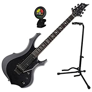 esp ltd f 200 fr chm electric guitar w stand and tuner musical instruments. Black Bedroom Furniture Sets. Home Design Ideas