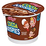 Kellogg's Cocoa Krispies Breakfast Cereal in a Cup, Low Fat, Bulk Size, 12 Count (Pack of 2, 13.8 Trays)