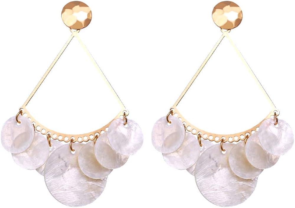 Geometric Triangle Earring Metal Simple Drop Dangle Earring Plating Gold Bohemian Dangling Costume Earring For Women Girl Bar Party Fashion Jewelry