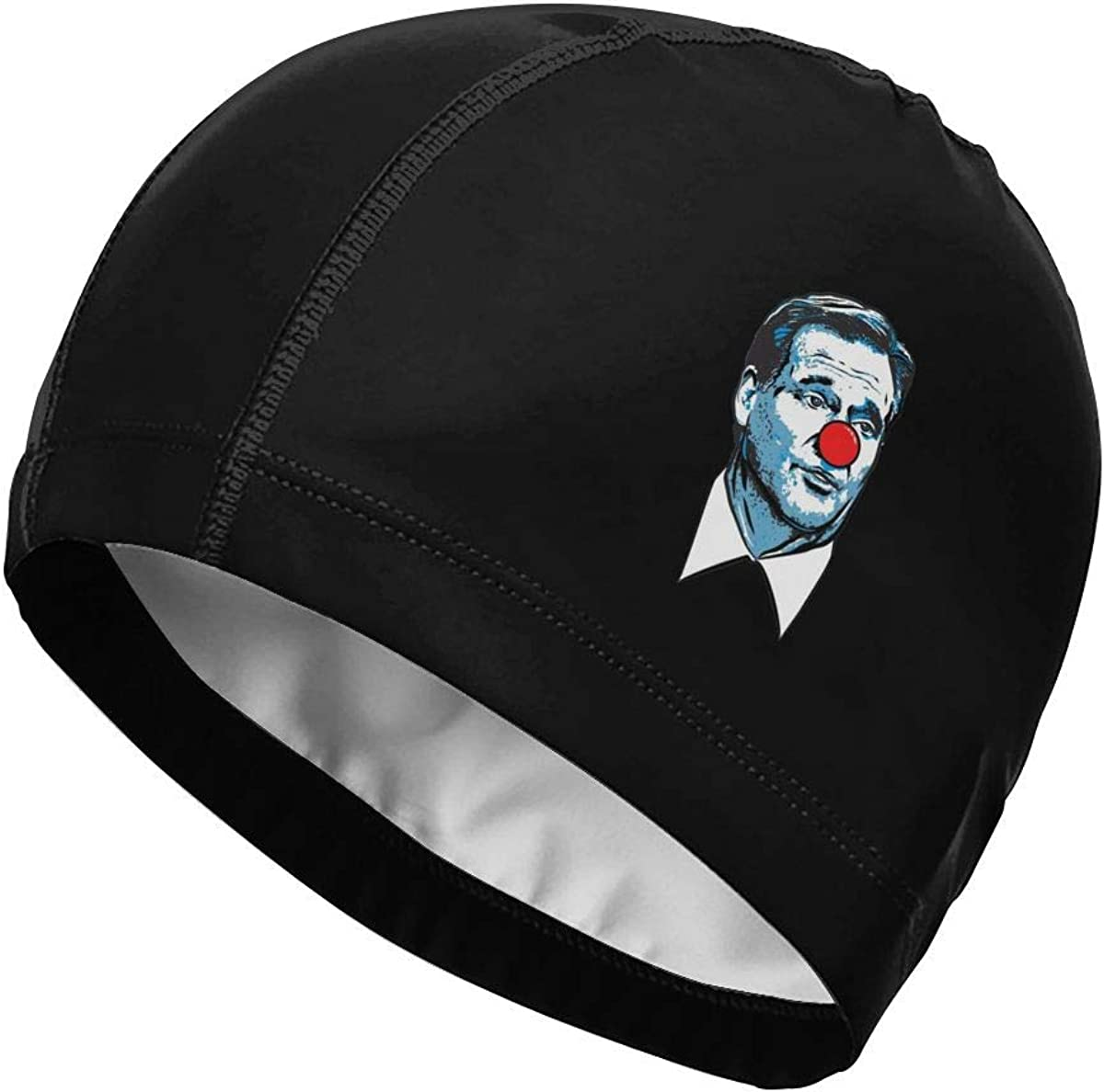 Matt Patricia Roger Goodell Clown Swimming Cap Bathing Caps for Men Women