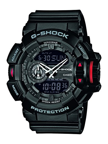 G-Shock-Herren-Armbanduhr-Xl-G-Shock-Analog-Digital-Quarz-Resin-Ga-400-1Ber