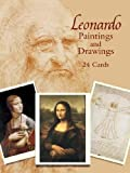Leonardo Paintings and Drawings: 24 Cards (Dover Postcards)