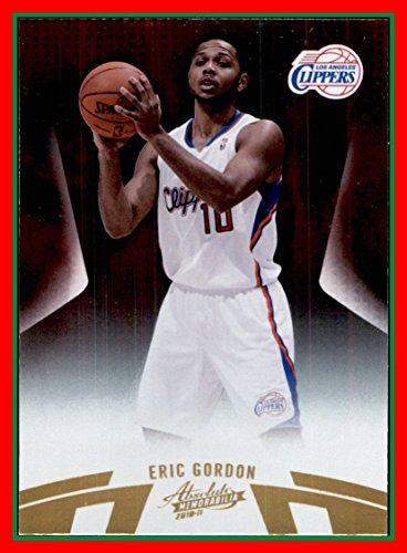 - 2010-11 Absolute Memorabilia #49 Eric Gordon los angeles clippers (87d)