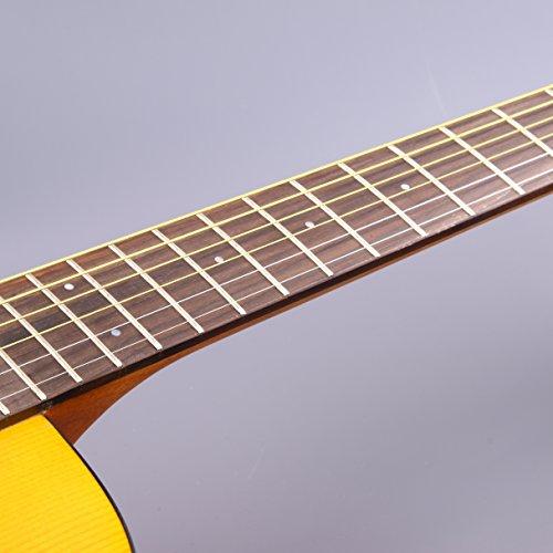 Yamaha JR1 FG Junior 3/4 Size Acoustic Guitar with Gig Bag and Legacy Accessory Bundle - Image 6