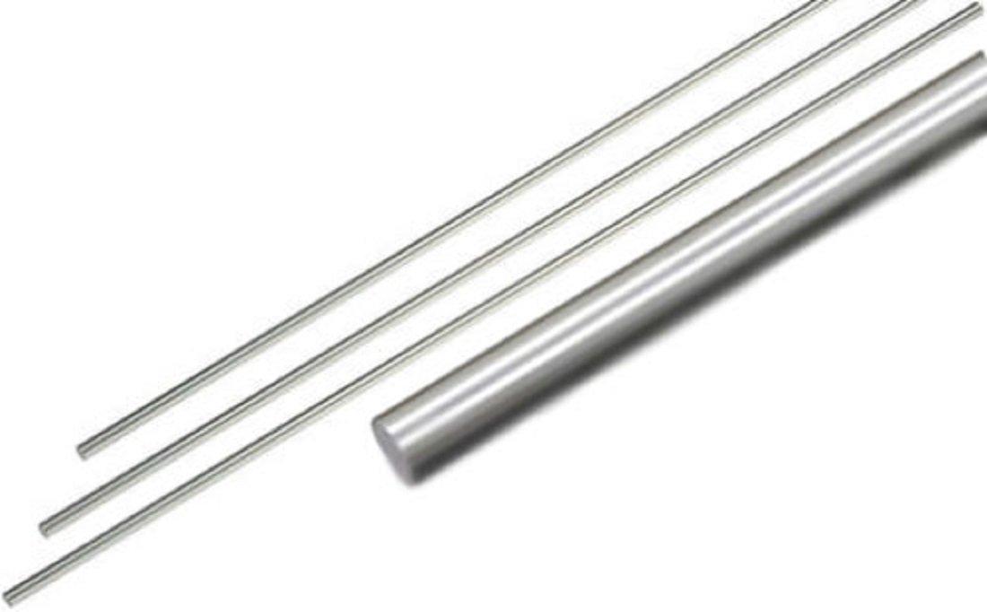 Präzisionswelle 25mm h6 geschliffen /& gehärtet 600mm Gewindebohrungen M12x30