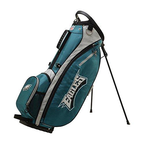 Wilson 2018 NFL Carry Golf Bag, Philadelphia - Philadelphia Golf Eagles