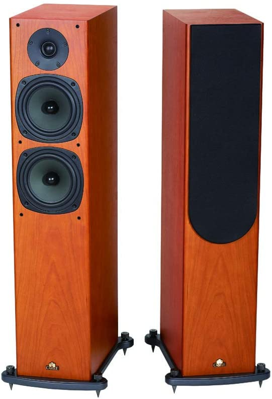 Castle Knight-4 Floorstanding Speaker Cherry (Pair): Amazon.es: Electrónica