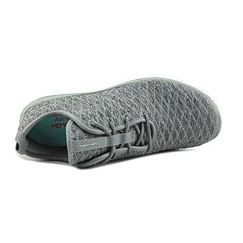 Skechers Frauen Flex Appeal 2.0 First Impression Sneaker Grau