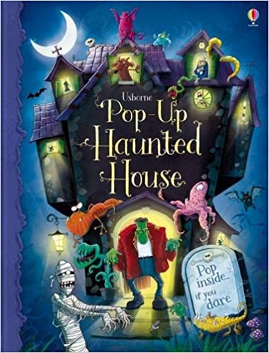 pop up haunted house 9781409535027 amazon com books