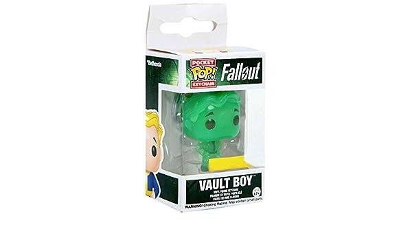 Funko- Keychain Llavero con Anilla Vault Boy Fallout, (9431-PDQ)