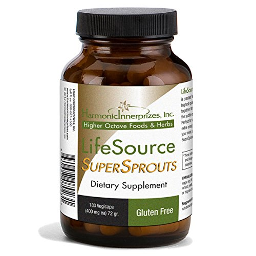 Cheap Harmonic Innerprizes LifeSource SuperSprouts 180 VeggieCaps