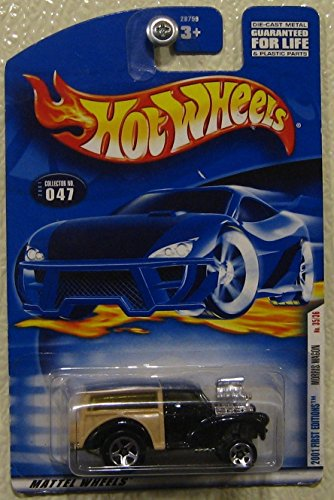 Hot Wheels 2001 First Editions Morris Wagon 1/64 35/36 Collector # 047 .HN#GG_634T6344 G134548TY57322 ()