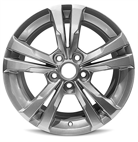 New 17 Inch Chevrolet Equinox Replacement Alloy Wheel Rim 17x7 Inch 5 Lug 67mm Center Bore 43mm Offset 9597708 PFF RSB