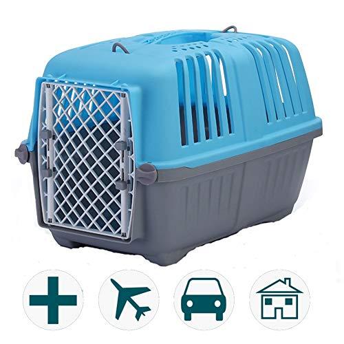 LIANGZHI transportbox Hund Plastik, Portabler Transport Großer Käfig, Starke Tragfähigkeit, atmungsaktive und langlebige…