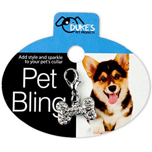 Pet Bling Collar Charm - 24/Pack