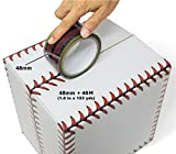 Adstape New Baseball Stitches Design Cellophane Adhesive Tape Funny Home Decor