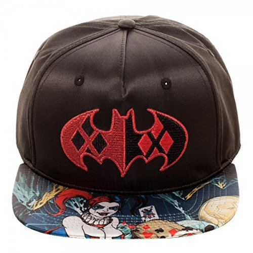 Batman DC Comics Arkham Logo Black Snapback Hat - sb4nk3btm   Shops ... b37ff8e272d4