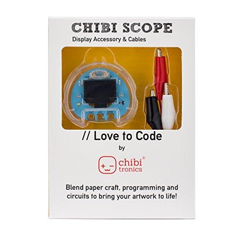 Chibitronics - Love to Code - LTC - Chibi Scope with 3 alligator clips Love Alligators