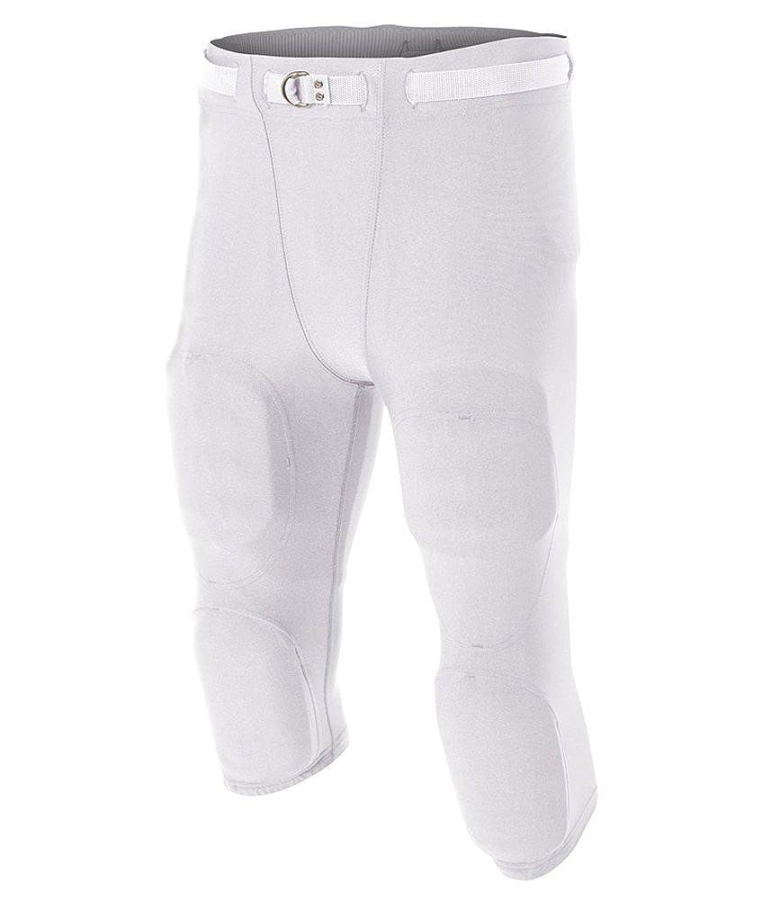 White A4 Flyless Football Pant XXXX-Large