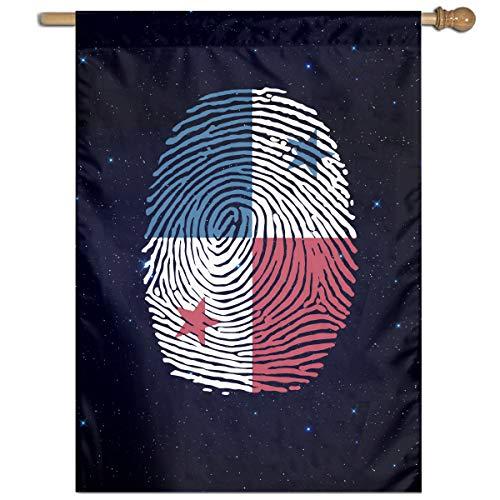 Panama Flag Fingerprint Custom Outdoor/Home Garden Flag Gift -
