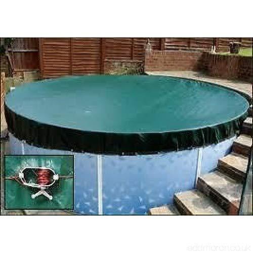 3,7 m above Ground Pool Winter detriti di alta qualità piscina copertura invernale con sistema a cricchetto