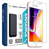 Tech Armor Enhance Radiation Blocking Screen Protector for Apple iPhone 8, iPhone 7, iPhone 6 - Blocks Harmful Radiation, Improves Battery Life and Cell Signal - [1-Pack]
