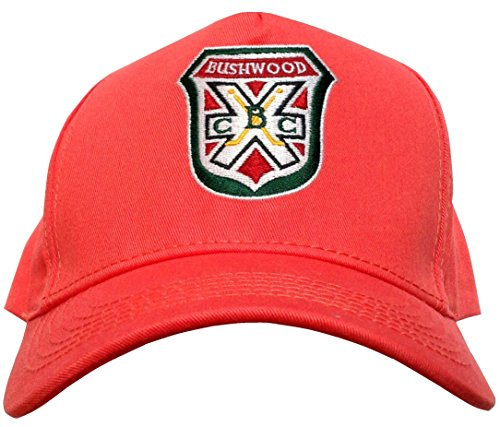 CADDYSHACK Noonan Bushwood Country Club Retro Snapback Golf Hat Orange Salmon Color
