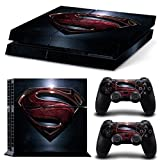 Cheap MATTAY PS4 Superman Whole Body Vinyl Skin Sticker Decal Cover for PS4 Playstation 4 System Console and Controllers