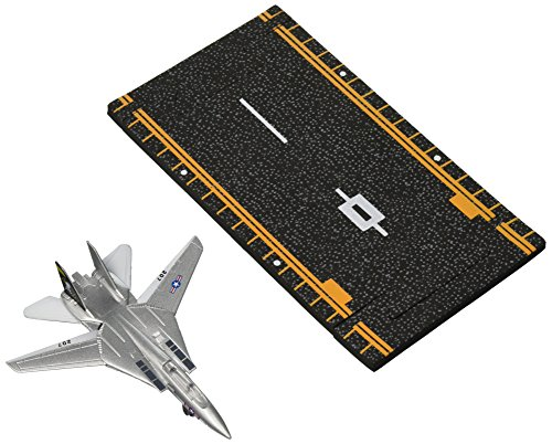 Hot Wings F-14 Tomcat Jet (Jolly Rodgers) with Connectible Runway