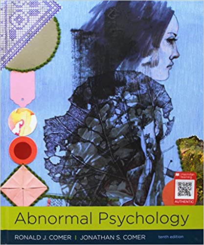 Amazon Com Abnormal Psychology 9781319066949 Ronald J Comer