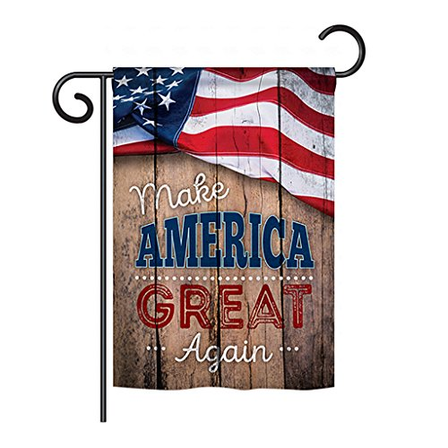 Proud to Make America Great Again Outdoor Garden Mini Yard D