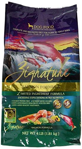 Zignature Salmon Formula Dog Food (1 Pack), 4 lb