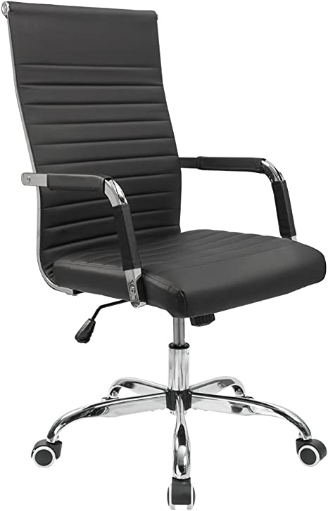 Ribbed Office Desk Chair
