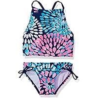Kanu Surf Girls' Daisy Halter Tankini Beach Sport 2-Piece Swimsuit