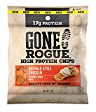 Gone Rogue High Protein Buffalo Style Chicken Chips | Low Carb, Gluten Free Snacks | 8 pack