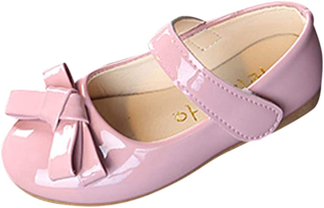 XUANOU Newborn Baby Girls Boys Bowknot Plush Shoes First Walker Soft Sole Shoes