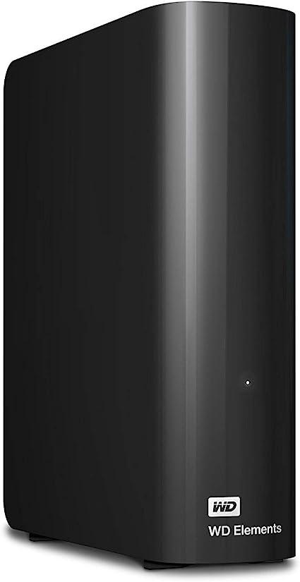 WD Elements Desktop 8TB(WDBBKG0080HBK-JESN)