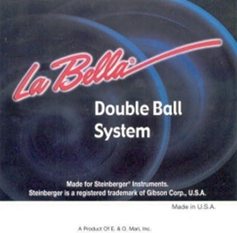 Amazon.com: CUERDAS GUITARRA ELECTRICA - La Bella (S/942) Extra Lite (Juego Completo 008/042E) Doble Bola: Musical Instruments