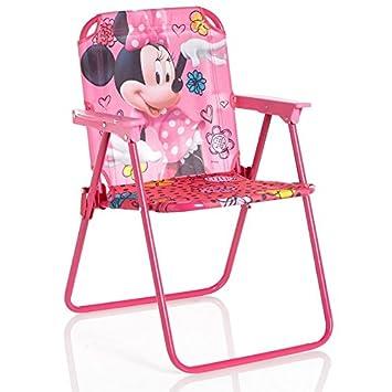 Miraculous Amazon Com Disney Minnie Mouse Bow Tique Patio Chair Customarchery Wood Chair Design Ideas Customarcherynet
