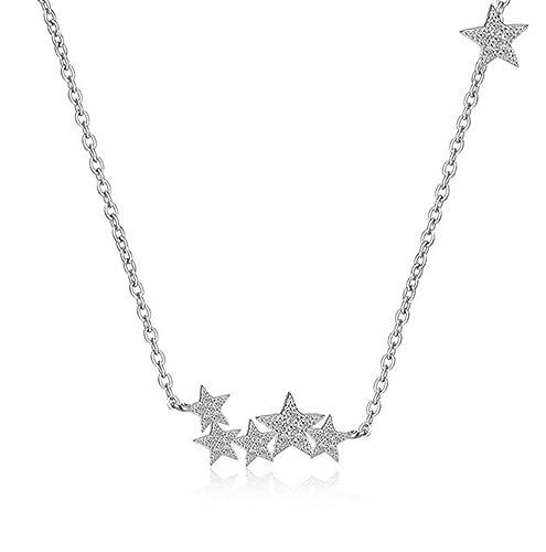 shawa Mujer Cadenas de estrellas collares Princesa Kubik ...
