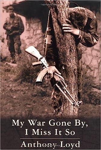 My War Gone By, I Miss It So